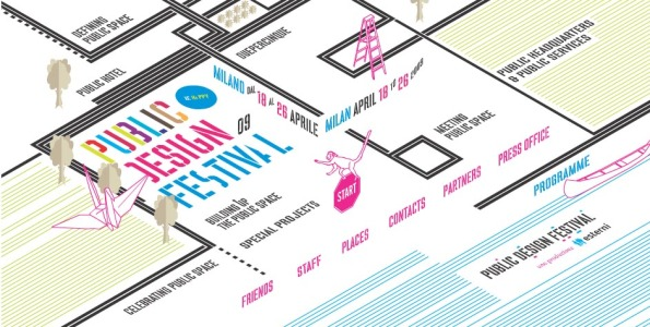 Esterni Public Design Festival Banner